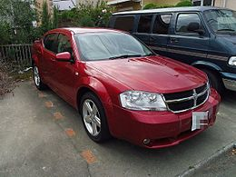 Dodge Avenger SXT Sedan Japanese ver.JPG