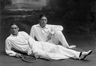 Reginald Doherty - Reginald Doherty (left) with his brother Laurence.