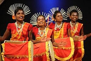 Dollu Kunitha - Dollu Kunitha - drum dance of Karnataka.at National folk festival, Thiruvananthapuram, Feb 26, 2017