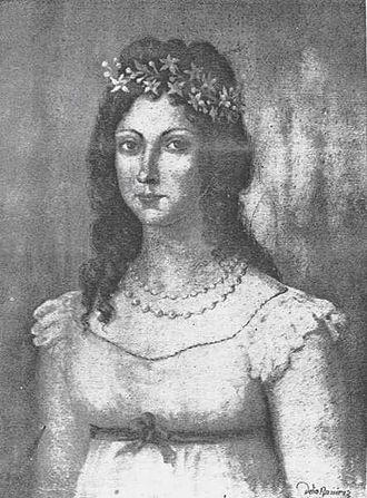 Rafael Urdaneta - Dolores Vargas Paris, wife of Urdaneta