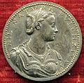 Domenico poggini, medaglia di sibilla lippi, figlia di filippino e moglie di alessandro tempesti, 1554.JPG