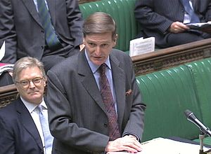 English: Dominic Grieve, the Attorney General ...
