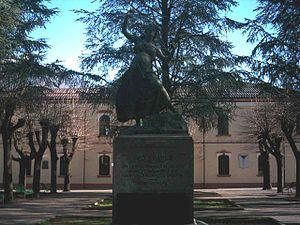 Jorge Chávez - Image: Domodossola.Monument o a Geo Chavez