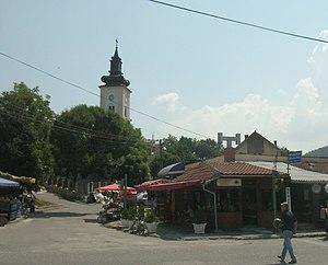 Donji Milanovac - The town