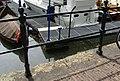 Dordrecht - rijksmonument 14045 - Korte Engelenburgerkade - ijzeren balusterhekken 20140525.jpg
