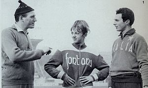 Pino Dordoni - Pino Dordoni (left), with Donata Govoni and Livio Berruti