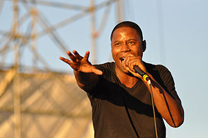 Doug E. Fresh - Fresh performing in Williamsburg, Brooklyn on August 29, 2010.