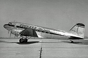 Essair Airways - Pioneer Air Lines Douglas DC-3 in 1948