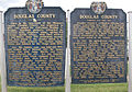 Douglas County, MO History sign (front and back).jpg