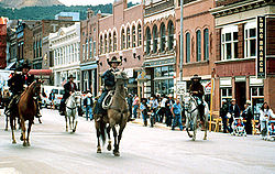 Downtown Cripple Creek today