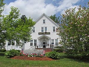 Dracut, Massachusetts - Dracut Town Office (demolished 2015)