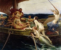 Herbert James Draper: Ulysses and the Sirens