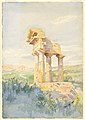 Drawing, Temple of Castor and Pollux, Sicily, 1903 (CH 18478189).jpg