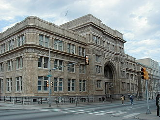 Campus of Drexel University - The Main Building, dedicated in 1891