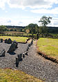 Drumskinney Stone Circle Alignment 2012 09 21.jpg