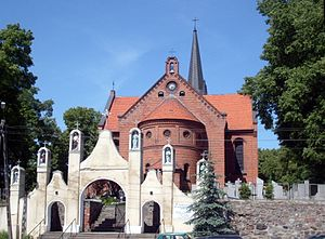 Drzycim - Image: Drzycim church