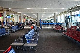 Al Maktoum International Airport - Departure gate area