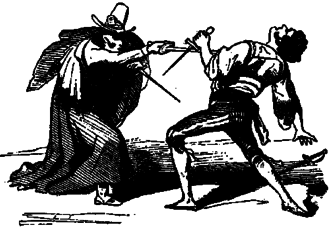 Parrying dagger - An example of unsuccessful main-gauche use