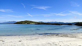 Inishbofin, County Galway - Dumhach Beach in the east of Inishbofin