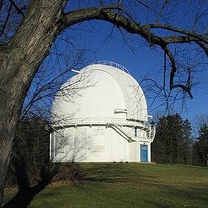 Otto Struve Telescope - Image: Dunlap Observatory
