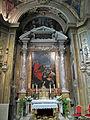 Duomo di ravenna, cappella aldobrandini del ss. sacramento, pala di guido reni, mosè che raccoglie la manna.JPG