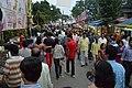 Durga Puja Spectators - Baghbazar Street - Kolkata 2014-10-03 9242.JPG