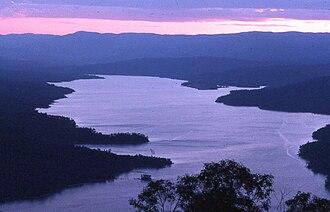 Lake Burragorang - Lake Burragorang at dusk