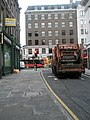 Dustcart at the junction of Chancery Lane and High Holborn - geograph.org.uk - 1653983.jpg