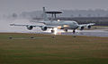 E-3D Sentry Aircraft Lands at RAF Waddington MOD 45153681.jpg