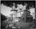 EAST SIDE, LOOKING SOUTHWEST - Alfred W. McCune House, 200 North Main Street, Salt Lake City, Salt Lake County, UT HABS UTAH,18-SALCI,27-6.tif