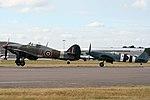 EGLF - Battle of Britain Memorial Flight (41713377200).jpg