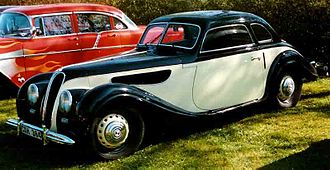 BMW 327 - EMW 327, manufactured after the settlement of the name/badge dispute