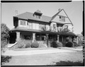 EXTERIOR, FRONT VIEW - Daniel Freeman House, Inglewood, Los Angeles County, CA HABS CAL,19-INGWO,3-2.tif