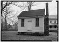 EXTERIOR, FRONT VIEW - Nash-Hooper House, Outbuilding, 118 West Tryon Street, Hillsborough, Orange County, NC HABS NC,68-HILBO,10A-1.tif