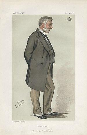 "John Dalrymple, 10th Earl of Stair - ""White Dal"" The Earl of Stair as caricatured by Spy (Leslie Ward) in Vanity Fair, September 1883"