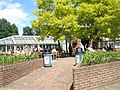 Eating al fresco at RHS Wisley - geograph.org.uk - 878368.jpg