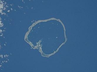 Ebon Atoll - NASA picture of Ebon Atoll