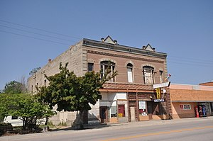 National Register of Historic Places listings in Fall River County, South Dakota - Image: Edgemont SD Bartlett Myers Building