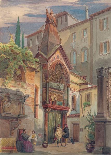 File:Eduard Gerhardt Scaliger-Gräber in Verona.jpg