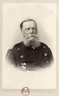 Eduard Vogel von Falckenstein Prussian army officer