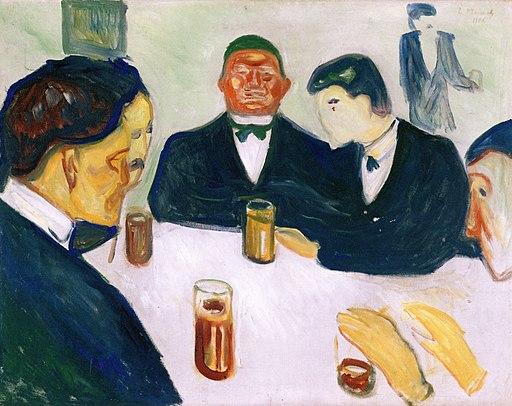 Edvard Munch - Drinkers