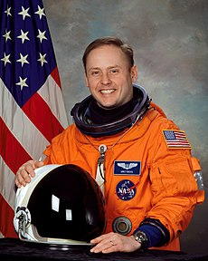 Michael Fincke was mission specialist 1 for this spaceflight. Image: NASA.