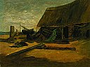 Edward Mitchell Bannister - Fishing Shacks - 1983.95.111 - Smithsonian American Art Museum.jpg
