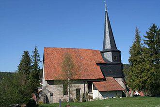 Frankenblick - Image: Effelder Kirche