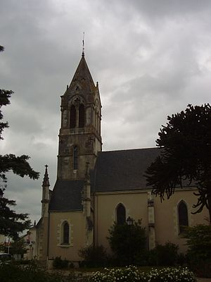 Saint-Géréon - The church in Saint-Géréon
