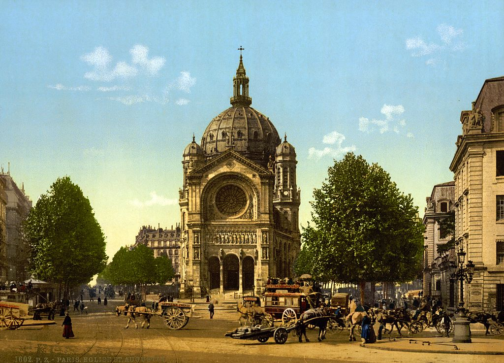 Saint-Augustin, Церкви Парижа, достопримечательности Парижа, Париж, путеводитель по Парижу, что посмотреть в Париже