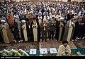 Eid al-Fitr prayer, Fatima Masuma Shrine, Qom, Iran.jpg