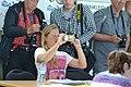 Einkleidung der deutschen Olympiamannschaft Rio 2016 Medientag Hannover 0103.jpg
