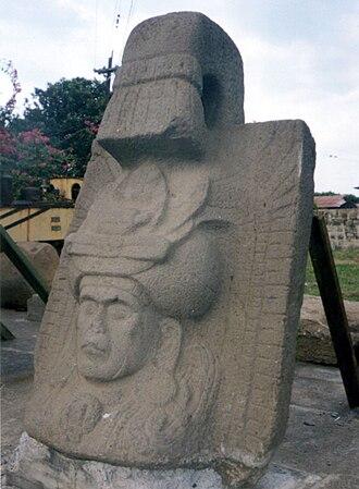 Cotzumalhuapa - A sculpture from El Baúl