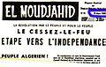 El Moudjahid Numéro 91 - 19 Mars 1962.jpg